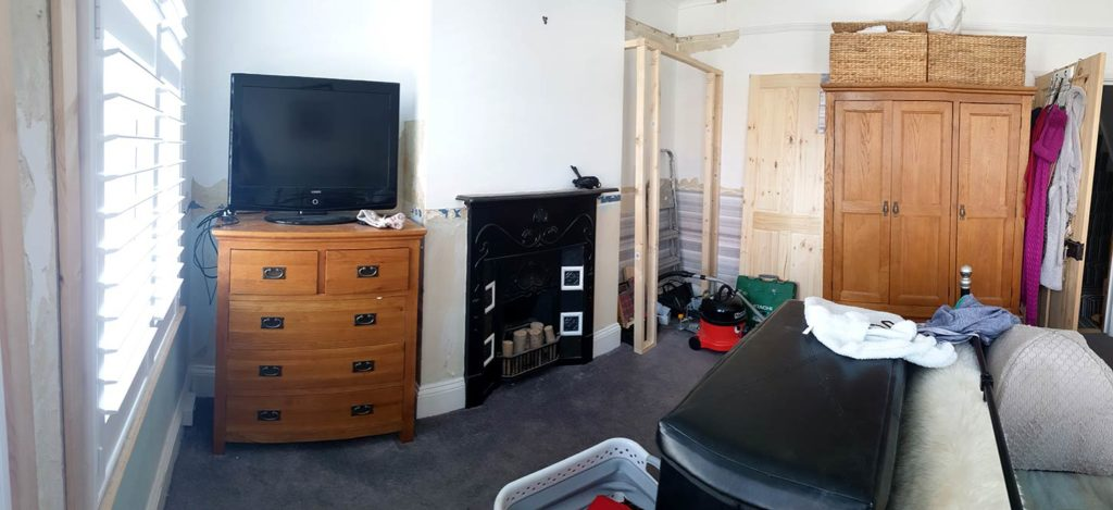 Photograph of a main bedroom before renovation by Made to Alder